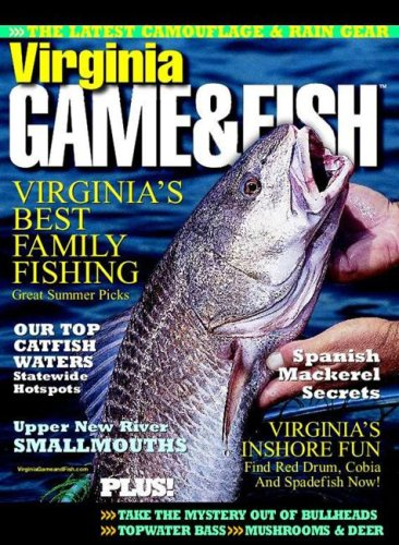 Virginia game fish magazine subscription discounts deals for Game and fish magazine